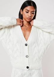 Co Ord Cable Knitted Cardigan