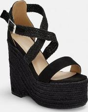 Cross Over Strap Wedges