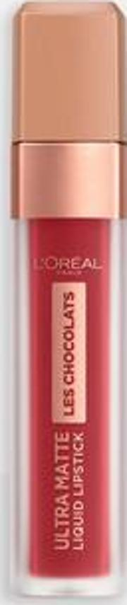 L'oreal Chocolats Ultra Matte Liquid Lipstick Tasty Ruby