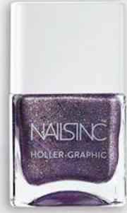 Nails Inc Hollergraphic Get Out Nail Polish