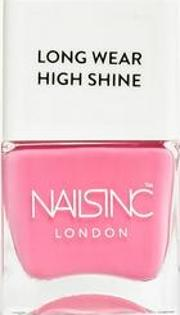 Nails Inc Pink Long Wear Nail Polish