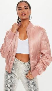 Pink Ultimate Ma1 Bomber Jacket
