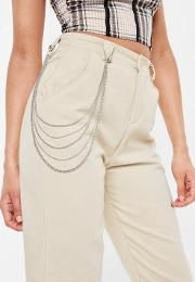 Silver Look Belt Chain