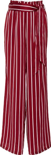 Belted Wide Leg Trouser