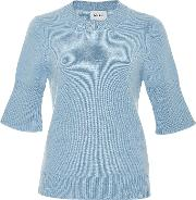 Barrie Short Sleeved Cashmere Sweater