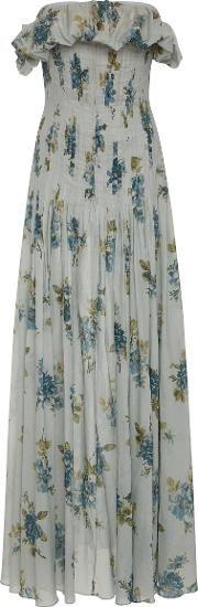 Dosey Roses Cotton Voile Dress