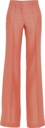 Structured Pleated Trousers