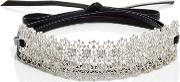 Monarch Chantilly Wrap Choker