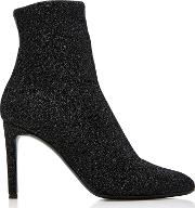Natalie Stretch Knit Ankle Boots