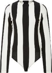 Goldsign The Wide Striped Bodysuit