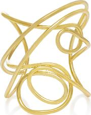 Gold Plated Multi Knot Cuff