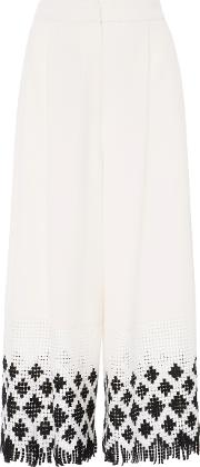 Harbor Cropped Wide Leg Pant