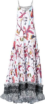 Day Bloom Cotton Maxi Dress