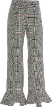 Front Thigh Seam Pant