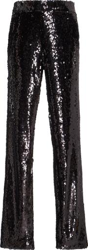 Stretchsequin Skinny Pants