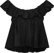 Two Tiered Ruffle Top
