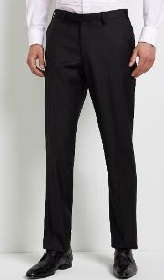 tailored fit dress trousers
