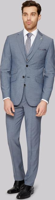 Tailored Fit Light Blue Jacket