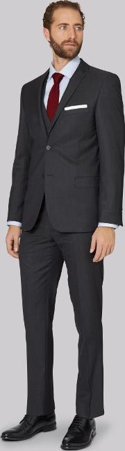 Tailored Fit Slate Grey Jacket