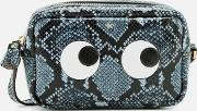 Mini Eyes Cross Body Bag Night Sky
