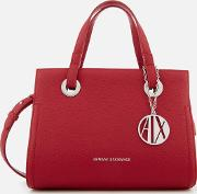 Small Shopper With Cross Body Bag Royal