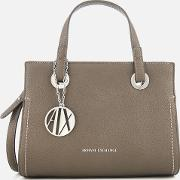 Small Shopper With Cross Body Bag Taupe
