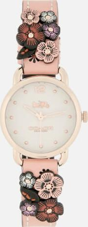 Delancey Floral Applique Watch