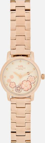 Grand Floral Watch Rose