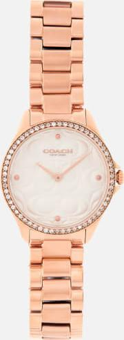 Modern Sport Logo Face Watch Rose