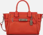 Swagger 27 Tote Bag Deep Coral