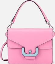 Ambrine Graphic Cross Body Bag Bubble Gum