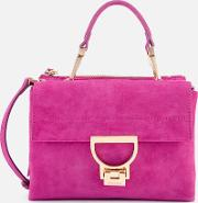 Arlettis Suede Cross Body Bag Ultra Violet