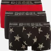 Damien Three Pack Boxer Shorts