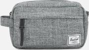 Chapter Carry On Wash Bag Raven Crosshatch