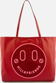 Happy Slouchy Tote Bag Oxblood