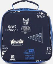 ' Junior Munch Lunch Bag Navy Happy Camper
