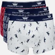Crown  3 Pack Boxer Shorts Sticky Wicket S