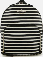 Hartley Backpack Blackclotted Cream