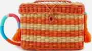 Roge  Thread Cross Body Bag Off Whiteorange
