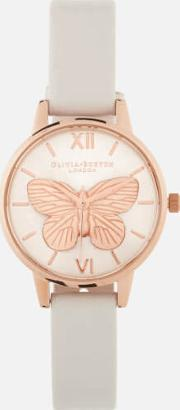 3d Butterfly Watch Blushrose Gold