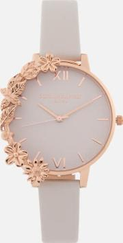 Case Cuffs Watch Blush & Rose Gold