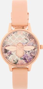 Glasshouse Watch  Peachrose Gold