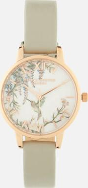 Painterly Prints Watch  & Rose Gold
