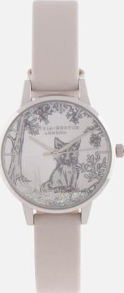Snow Globe Watch Blush &