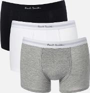 Sories Men's Three Pack Trunk Boxer Shorts