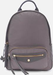 Merchant Hall Medium Backpack Zip Top Bag Charcoal