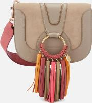 Hana Cross Body Bag With Contrast Tassel Motty