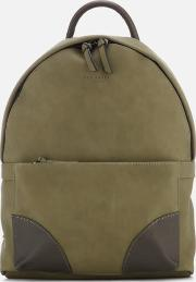 Graveet Nubuck Pu Backpack Olive