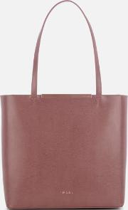 Melisa Bow Embossed Shopper Bag