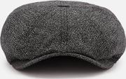 Treacle Baker Boy Hat Charcoal S M
